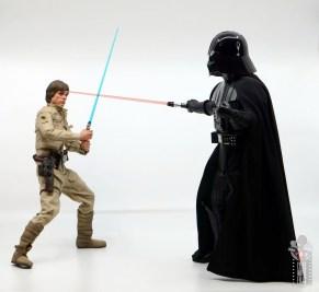 hot toys empire strikes back darth vader figure review - taunting luke skywalker