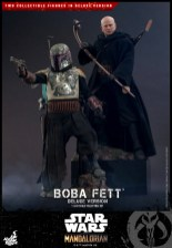 hot toys the mandalorian boba fett figure -both figures