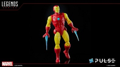 marvel legends fan first friday - classic colors iron man