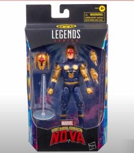 marvel legends fan first friday -nova in package