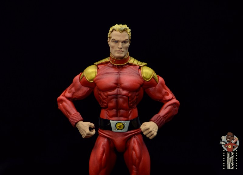 neca defenders of the earth flash gordon figure review - hands on hips