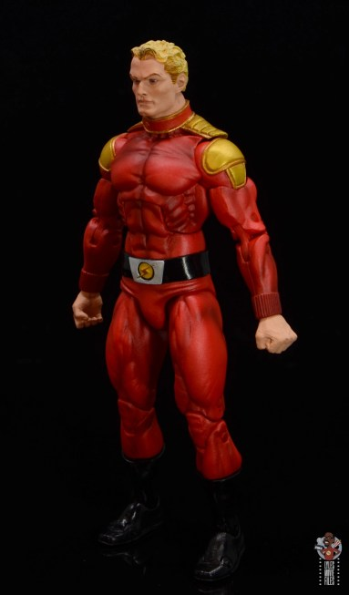 neca defenders of the earth flash gordon figure review - left side