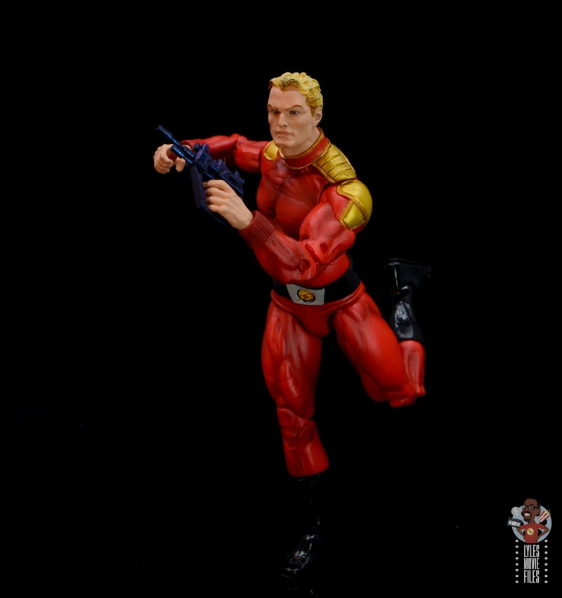 neca defenders of the earth flash gordon figure review - running