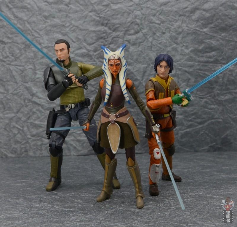 star wars the black series ahsoka tano figure review - with kanan and ezra