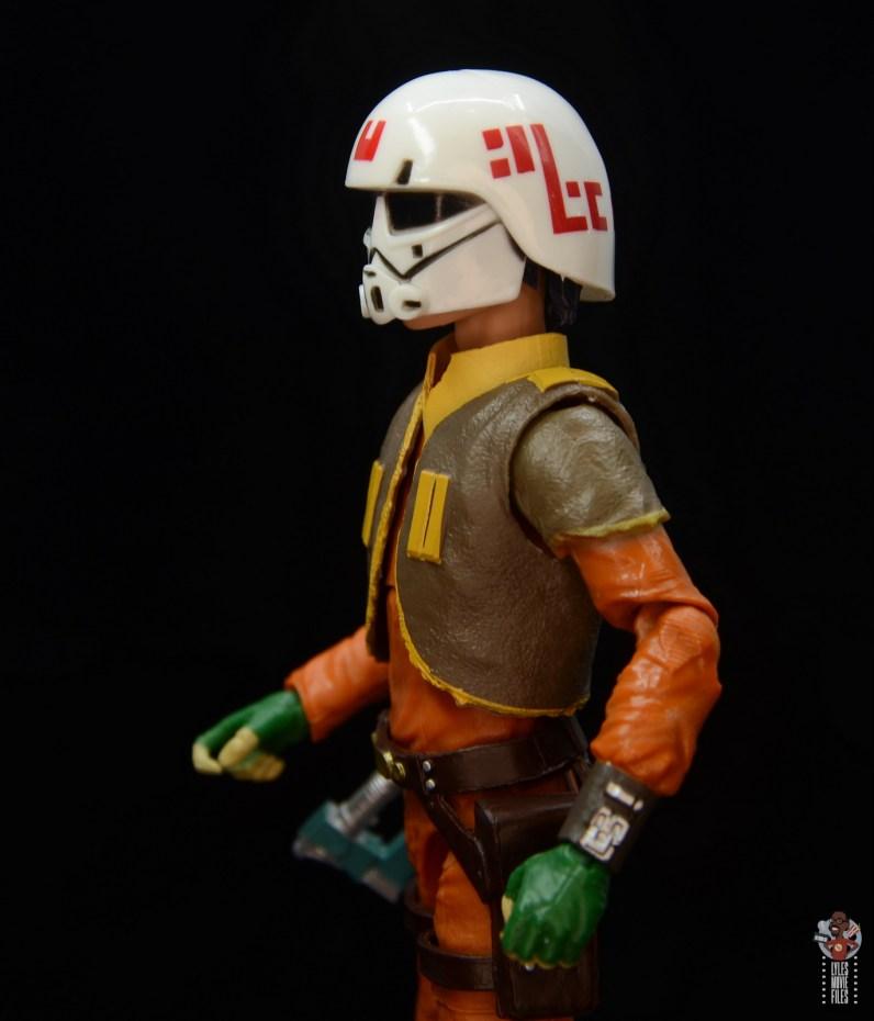 star wars the black series ezra bridger figure review - helmet left side