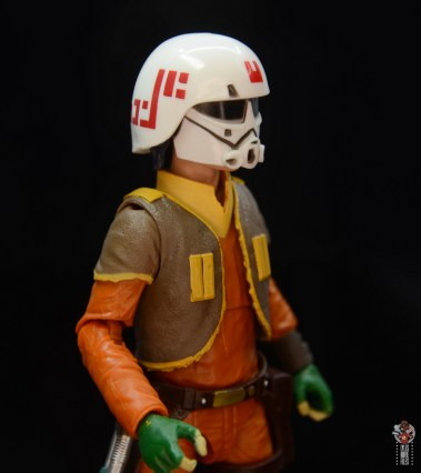 star wars the black series ezra bridger figure review - helmet right side