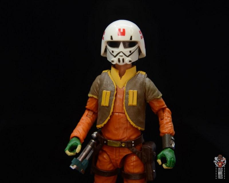 star wars the black series ezra bridger figure review -wearing helmet