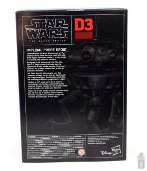 star wars the black series imperial probe droid figure review - package rear