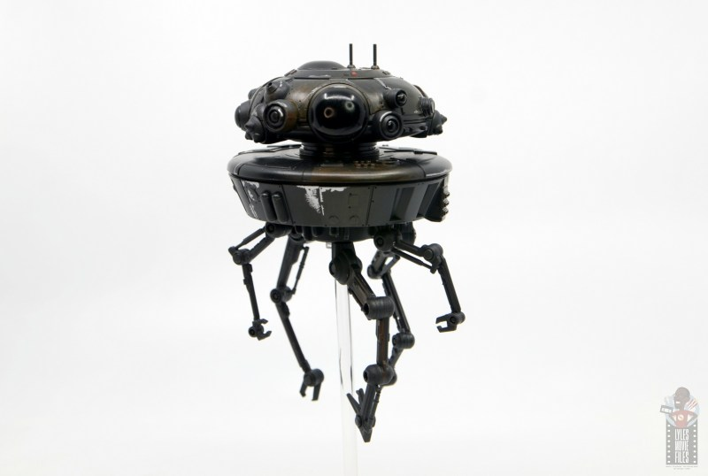star wars the black series imperial probe droid figure review - wide shot