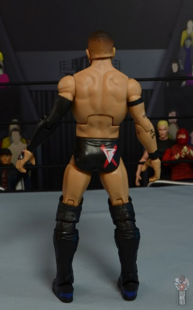 wwe elite 82 finn balor figure - rear