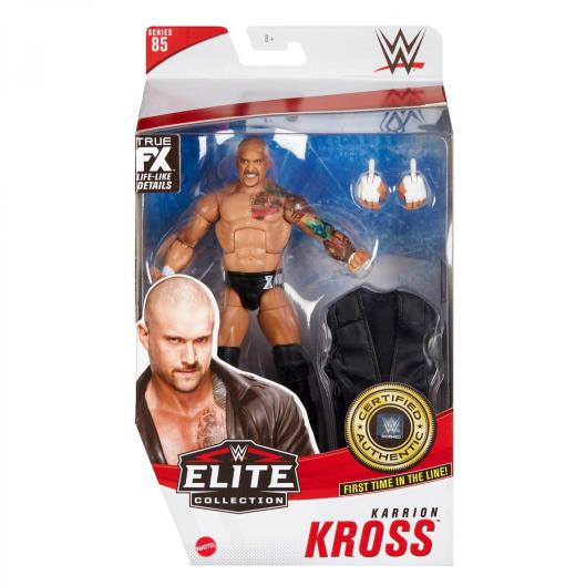 wwe elite 85 karrion kross -package