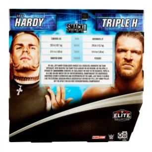 wwe two pack triple h vs. jeff hardy -package rear
