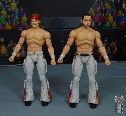 aew the young bucks figure review - front