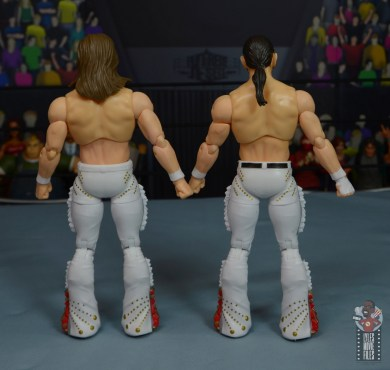 aew the young bucks figure review - rear