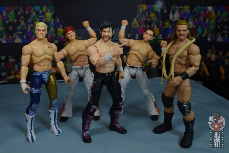 aew the young bucks figure review -the elite