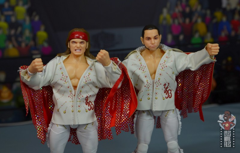 aew the young bucks figure review - wide shot