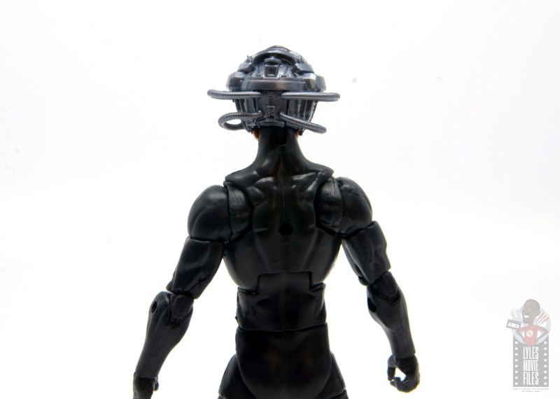 marvel legends house of x charles xavier figure review - helmet rear detail
