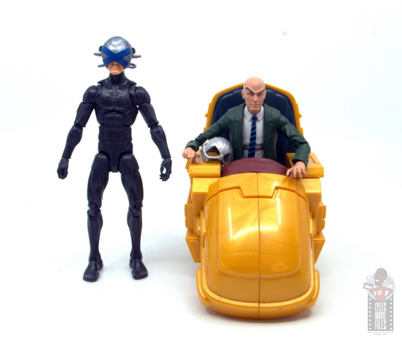 marvel legends house of x charles xavier figure review - with professor x figure