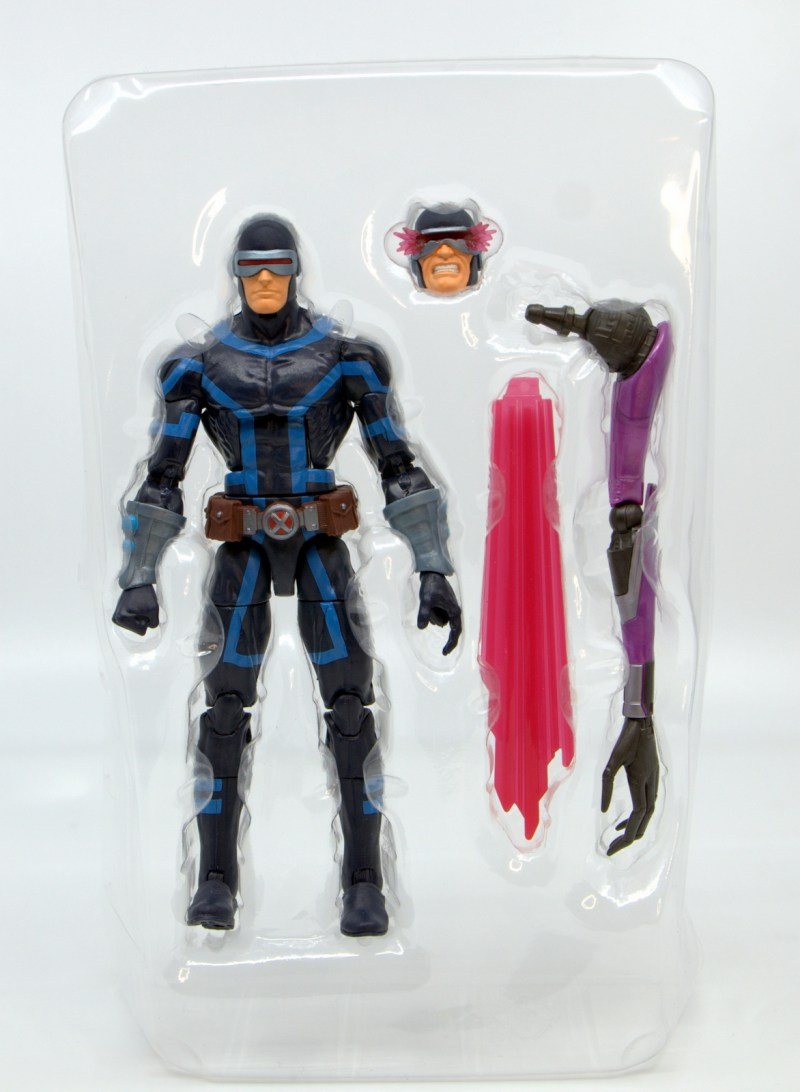 marvel legends house of x cyclops figure review - accessories in trey