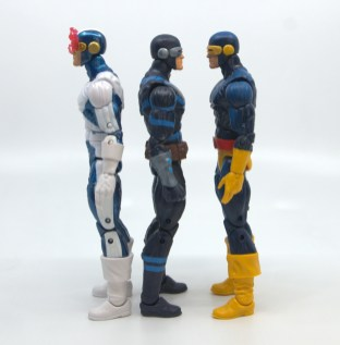 marvel legends house of x cyclops figure review - facing x-factor and cockrum cyclops
