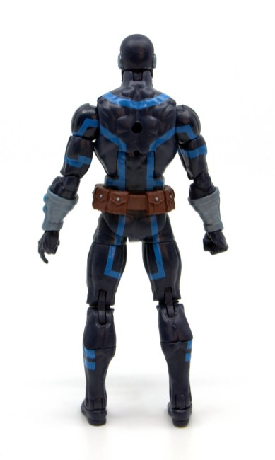 marvel legends house of x cyclops figure review - rear