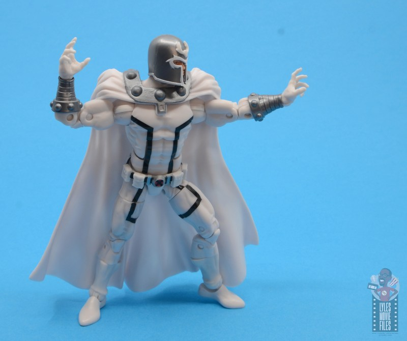 marvel legends house of x magneto figure review - aiming