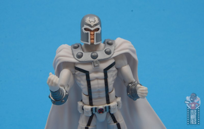 marvel legends house of x magneto figure review - fists up