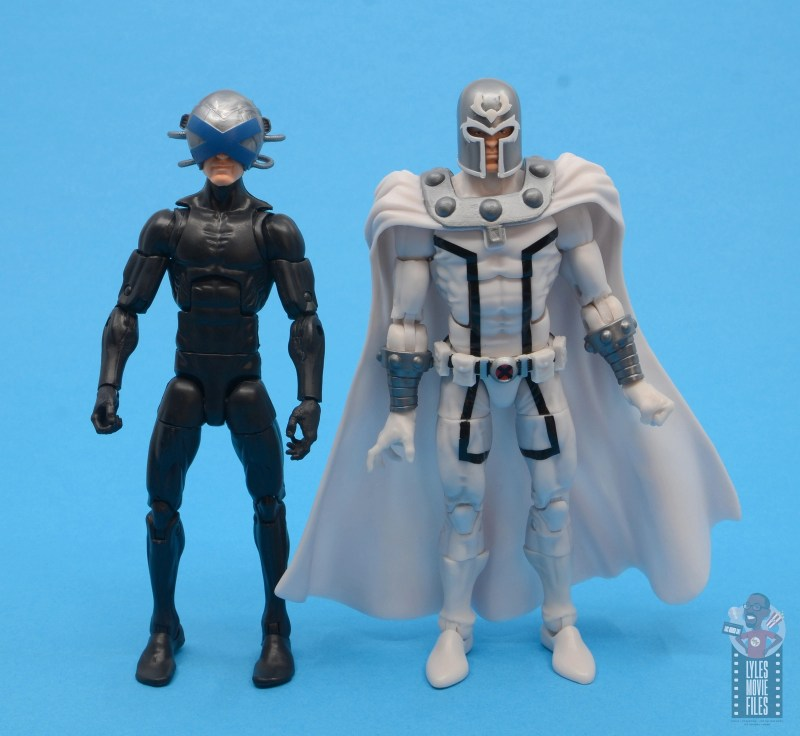 marvel legends house of x magneto figure review - scale with xavier