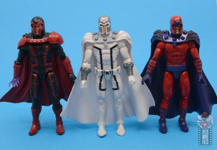 marvel legends house of x magneto figure review - with other magneto figures