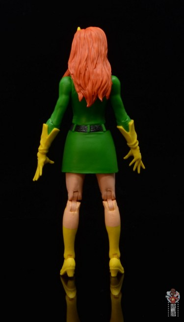 marvel legends house of x marvel girl figure review - rear