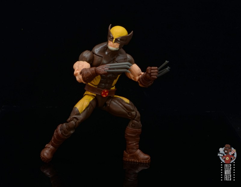 marvel legends house of x wolverine figure review - battle stance