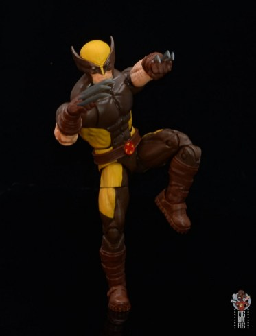 marvel legends house of x wolverine figure review - lunging