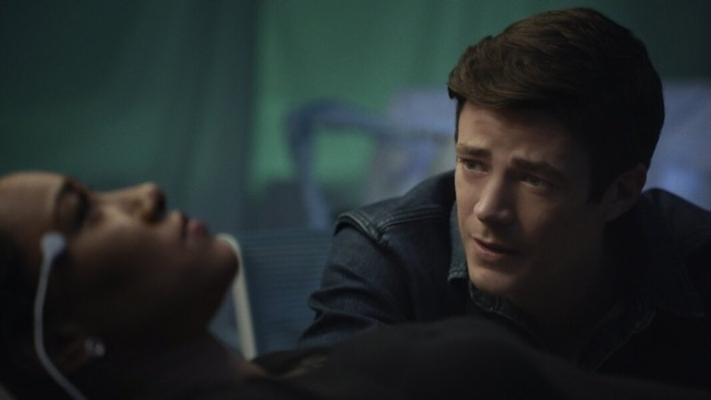 the flash - mother review - iris and barry