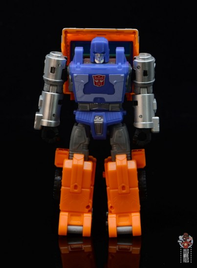transformers kingdom war for cybertron huffer figure review - front