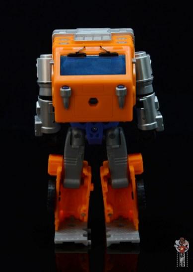 transformers kingdom war for cybertron huffer figure review - rear