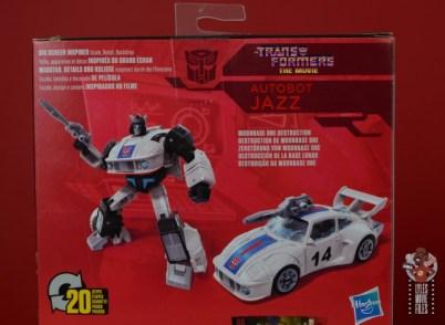 transformers studio series 86 jazz figure review - package bio top