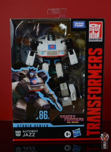 transformers studio series 86 jazz figure review - package front