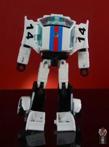 transformers studio series 86 jazz figure review - robot mode rear