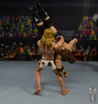 wwe elite 78 matt riddle figure review -gutwrench suplex to cole2