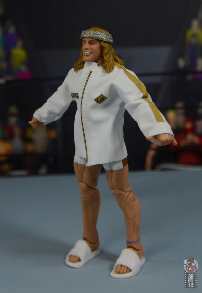 wwe elite 78 matt riddle figure review - ring gear left side