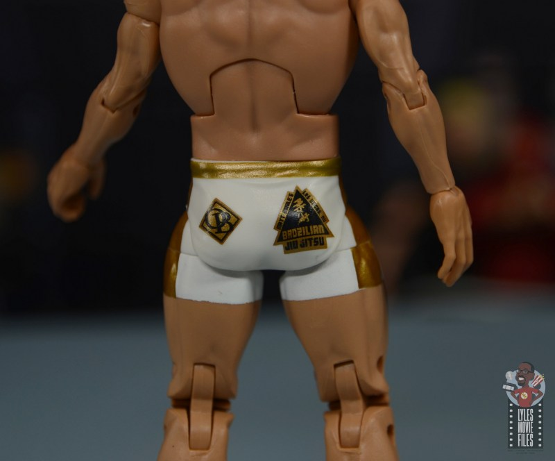 wwe elite 78 matt riddle figure review - tight detail