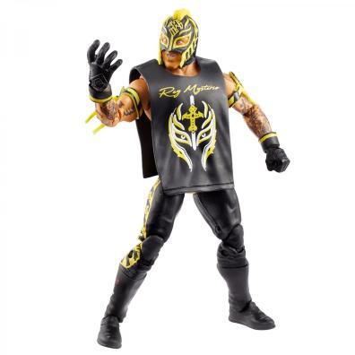 wwe elite top picks rey mysterio - raising hand
