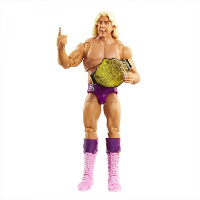 wwe ultimate edition ric flair -with world title