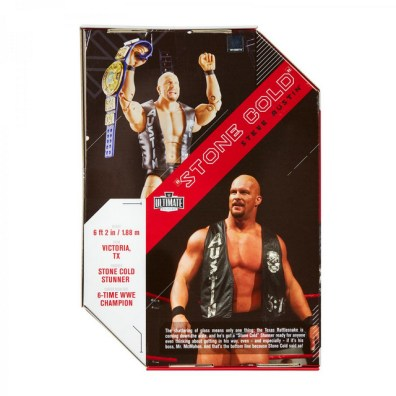 wwe ultimate edition stone cold steve austin - package rear
