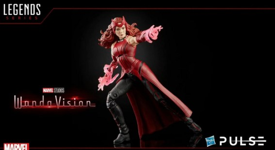 Hasbro Pulse Fan First Monday - scarlet witch action stance