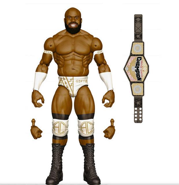 Mattel WWE Wrestlemania 2021 figure reveals elite 87 - apolo crews chase