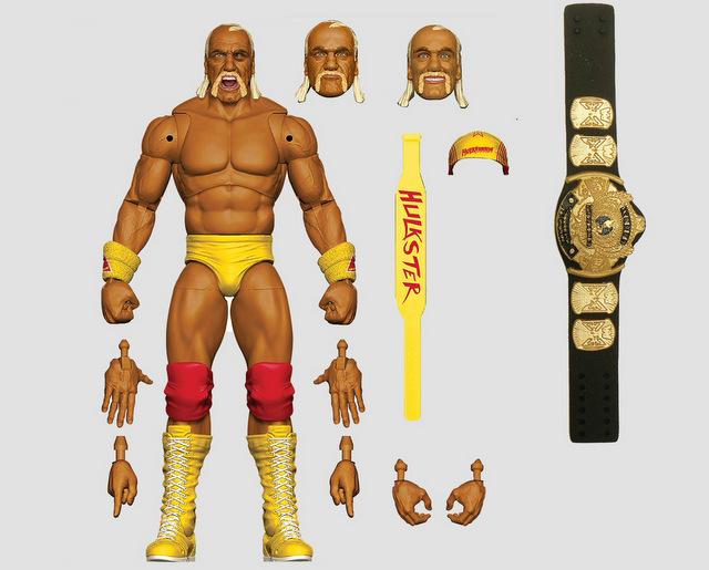 Mattel WWE Wrestlemania 2021 figure reveals ultimate edition hulk hogan wrestlemania 9 -