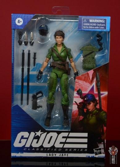 gi joe classified series lady jaye figure review - package front