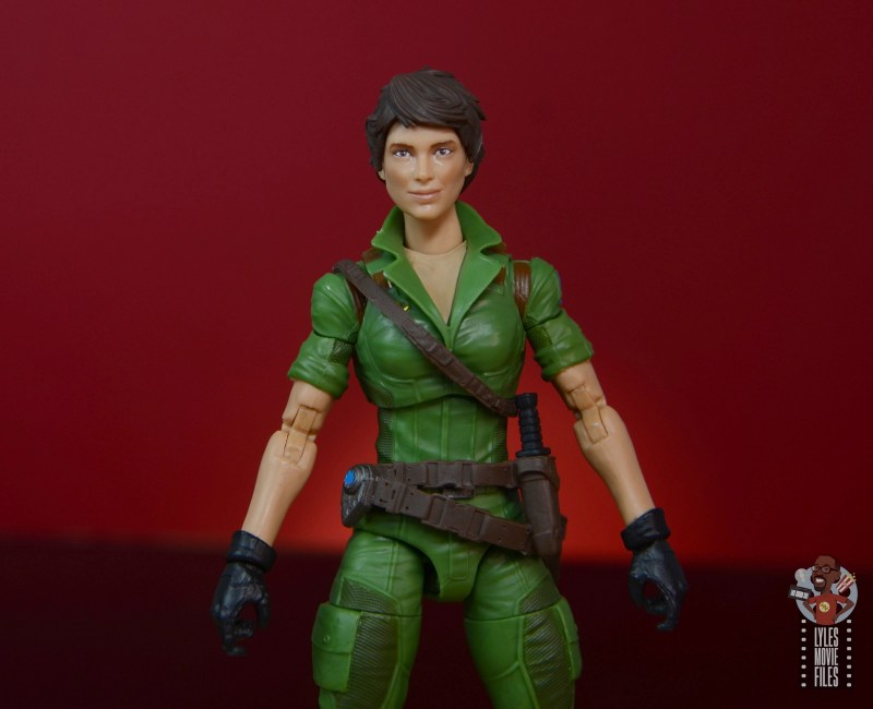 gi joe classified series lady jaye figure review - wide shot