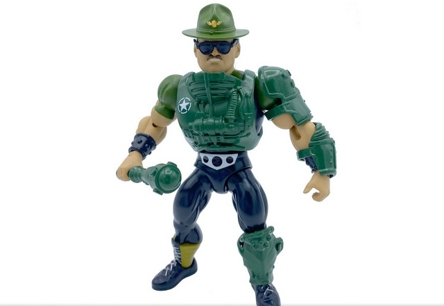 mattel wwe wrestlemania 2021 figure reveals - masters of the universe wave 7 sgt slaughter